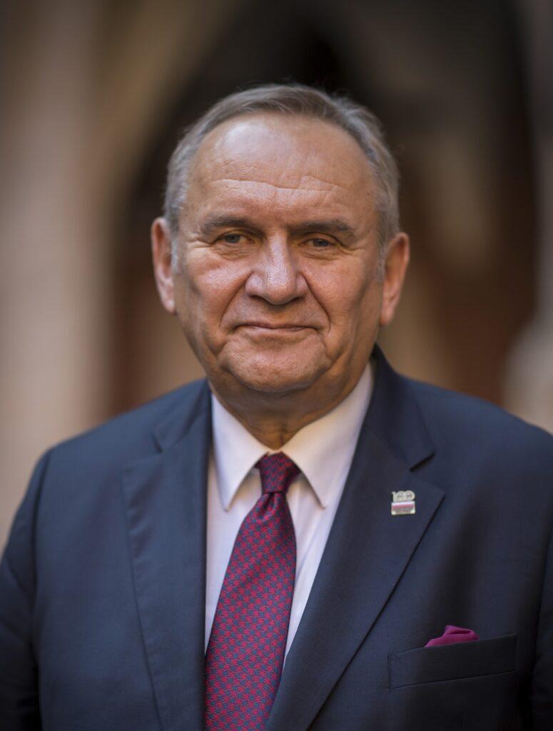Prezes PKOl - Andrzej Kraśnicki