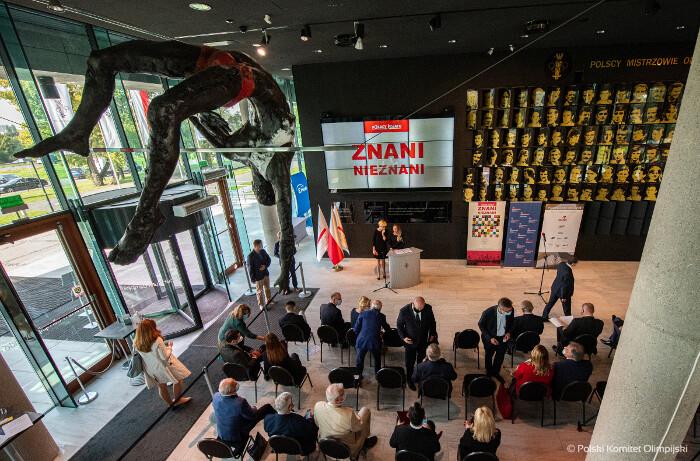 Promocja Polski i Polaków w Centrum Olimpijskim