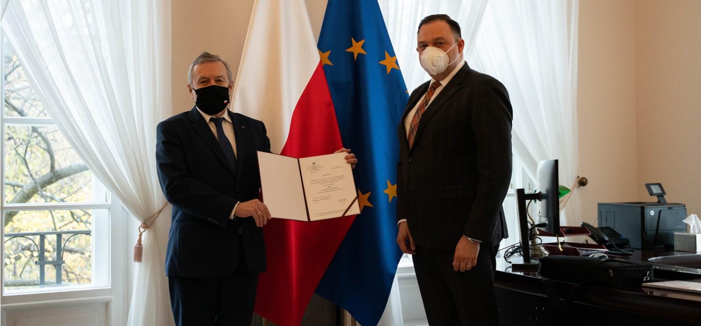 Andrzej Kalinowski dyrektorem Centralnego Ośrodka Sportu