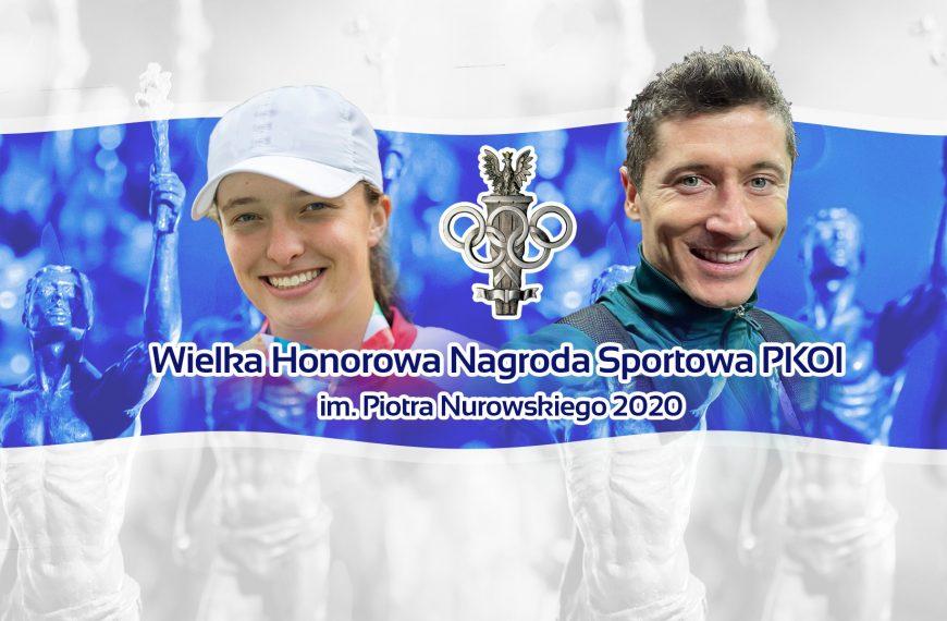 Iga Świątek and Robert Lewandowski are the Athletes of the Year 2020!