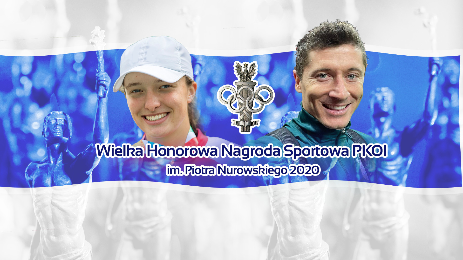 Iga Świątek and Robert Lewandowski are the Athletes of the Year 2020!
