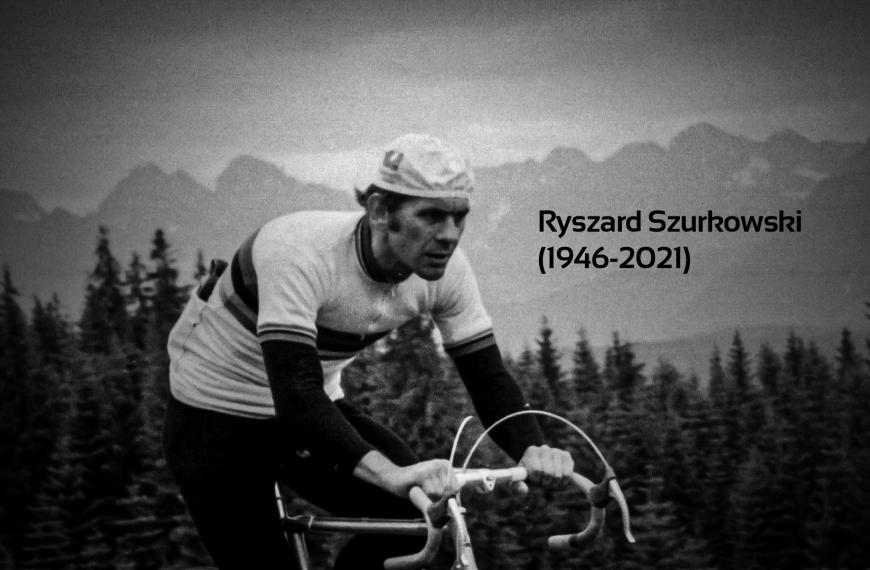Ryszard Szurkowski has died
