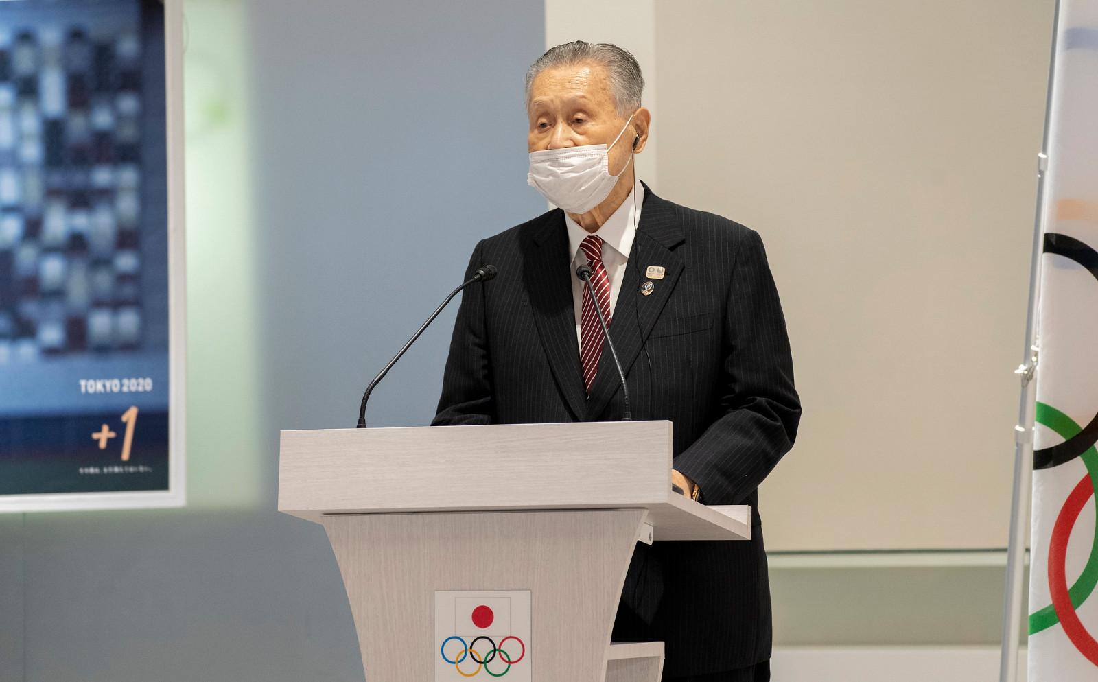 Yoshiro Mori zrezygnował
