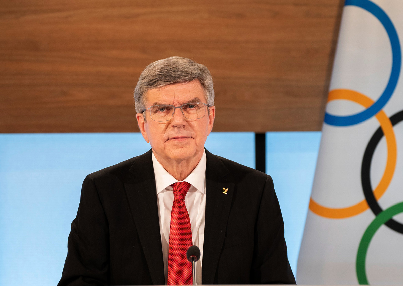 Thomas Bach has been re-elected as the President of the International Olympic Committee