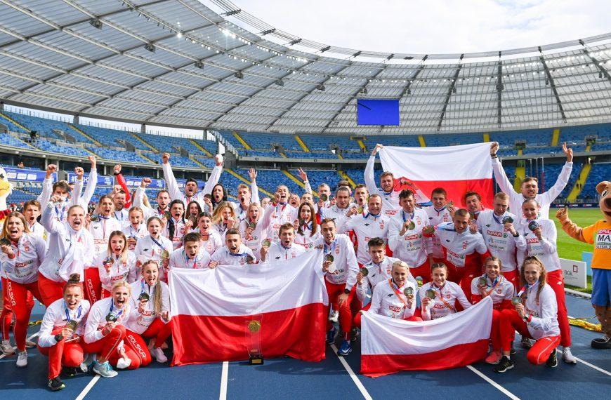 Polscy lekkoatleci Drużynowymi Mistrzami Europy!