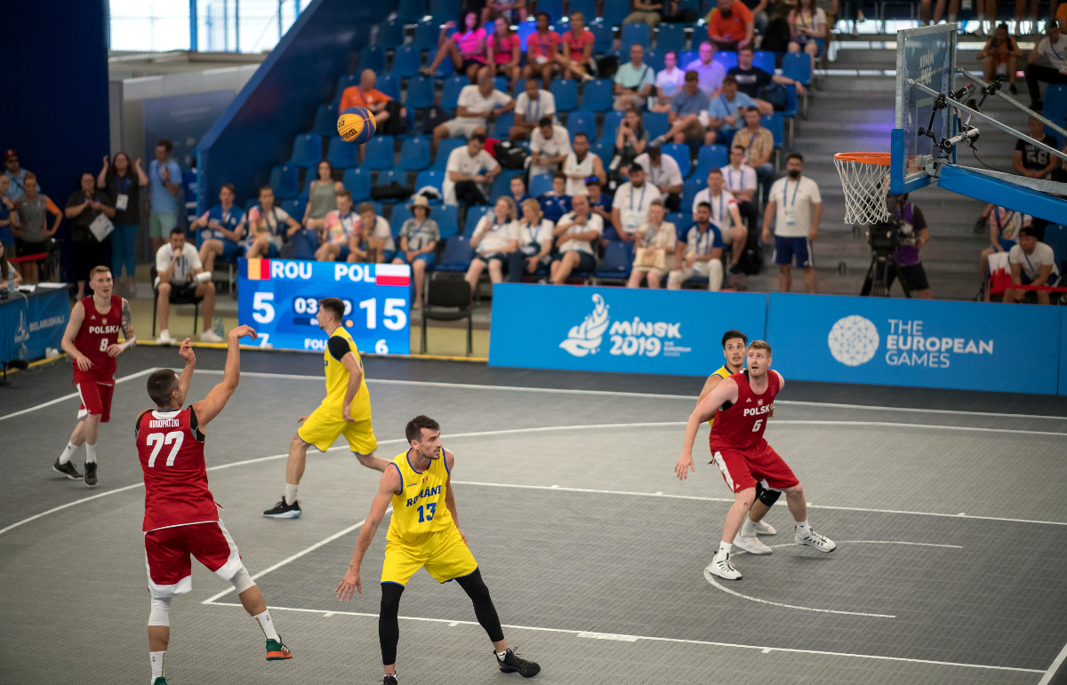 3×3 Basketball a slam dunk for 2023 European Games