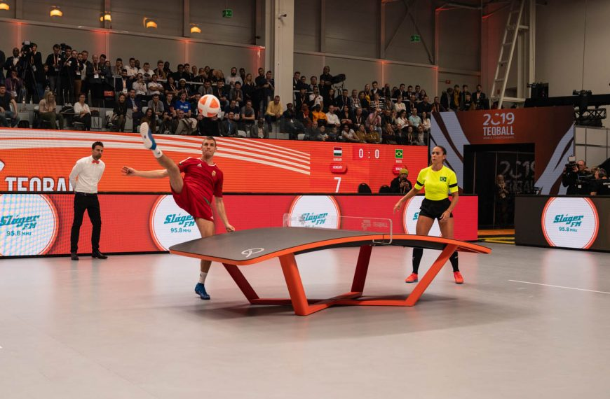 Teqball becomes 16th sport added to European Games 2023