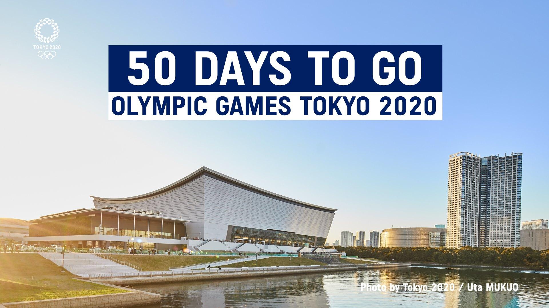 Do Igrzysk XXXII Olimpiady zostało tylko 50 dni!