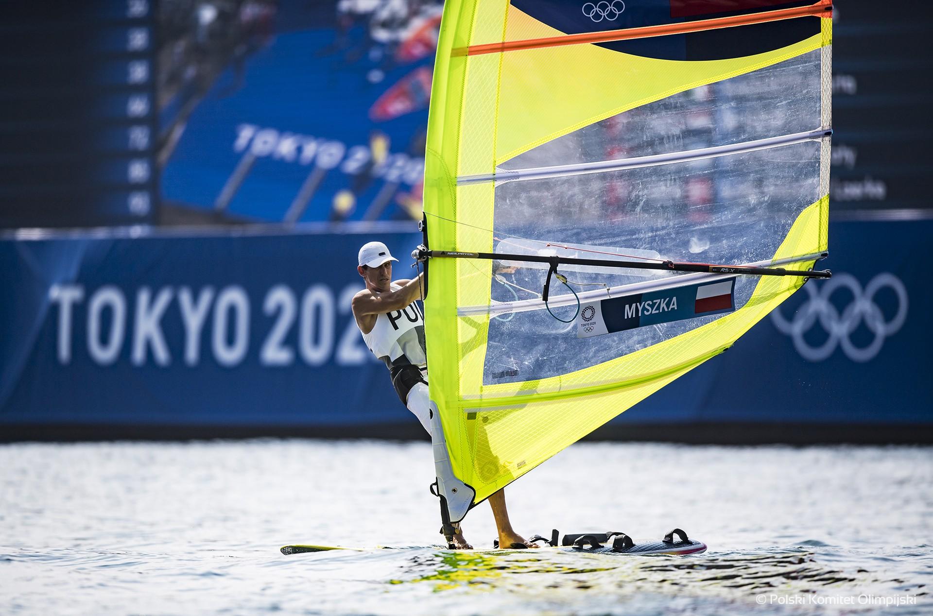 Piotr Myszka bez medalu w RS:X