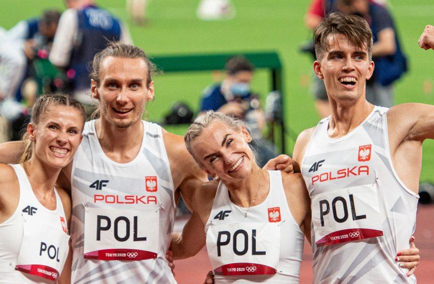 Polacy mistrzami olimpijskimi w sztafecie mieszanej 4×400 m!