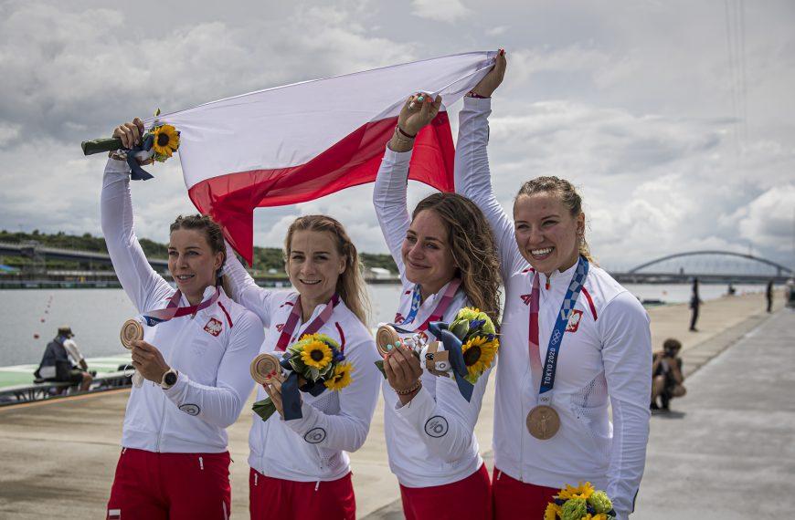 Brązowy medal kobiecej czwórki kajakowej!