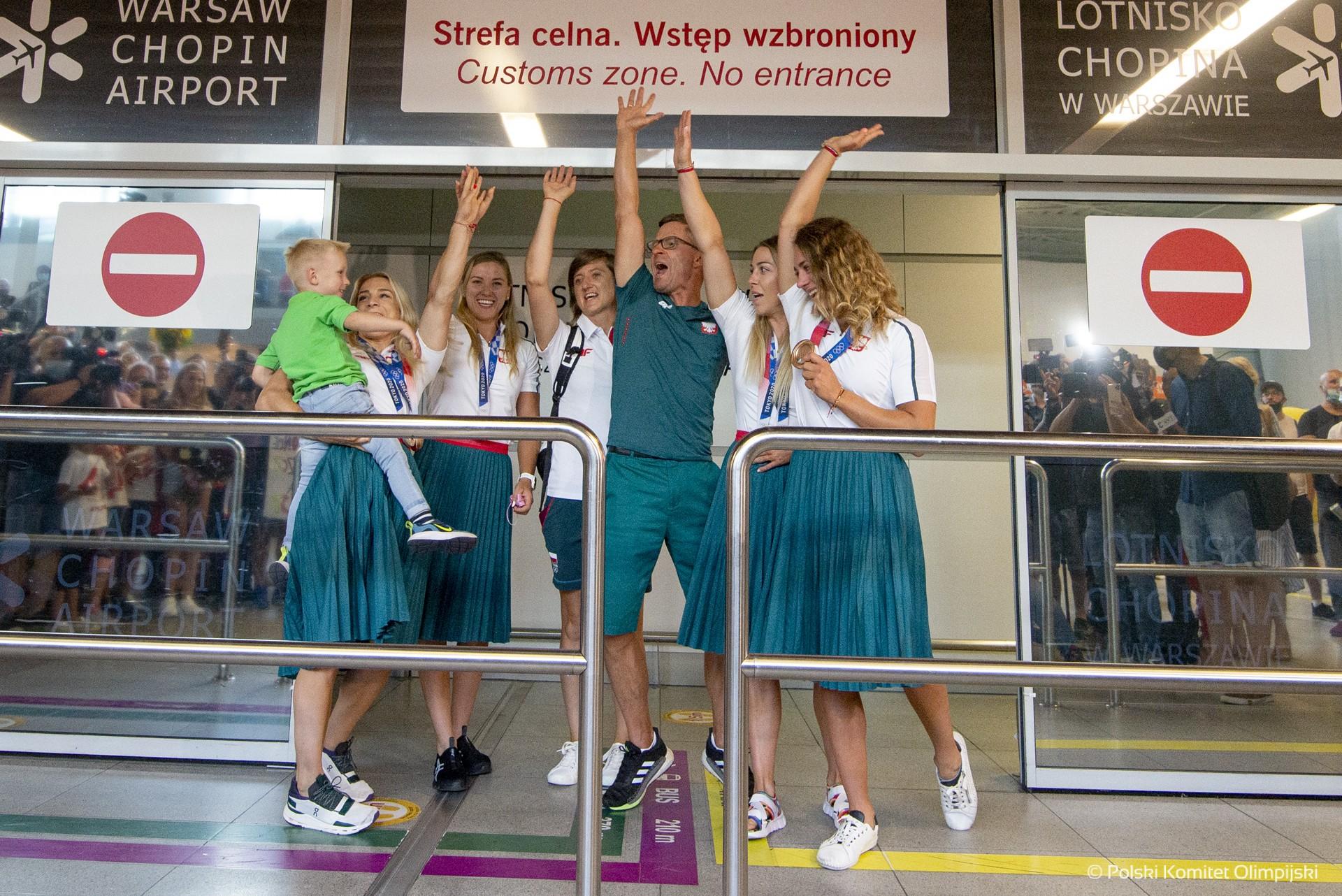 Ostatnie medalistki Igrzysk Olimpijskich w Tokio wróciły do Polski!