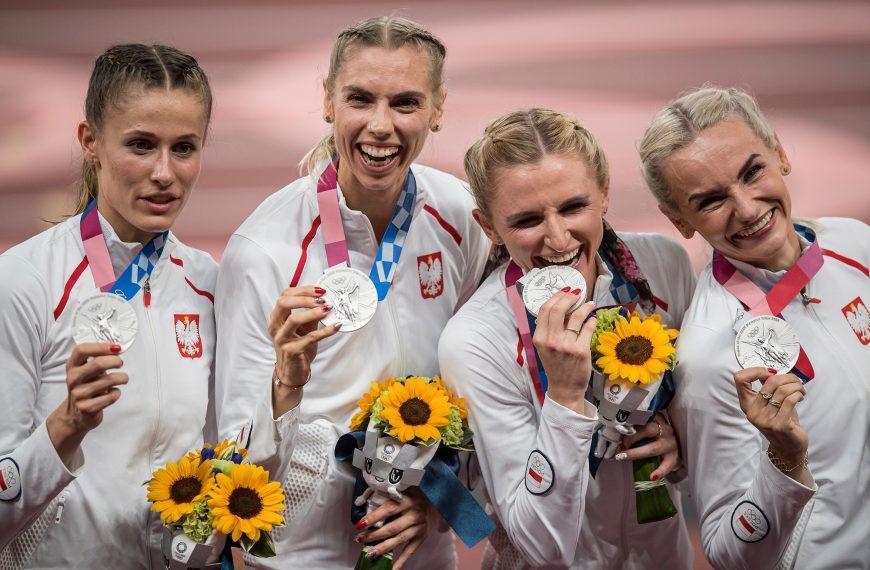 Sztafeta pań 4×400 m wicemistrzyniami olimpijskimi!