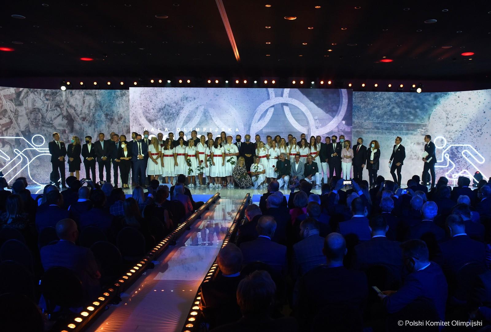 Gala Olimpijska Tokio 2020 – Polscy medaliści olimpijscy nagrodzeni
